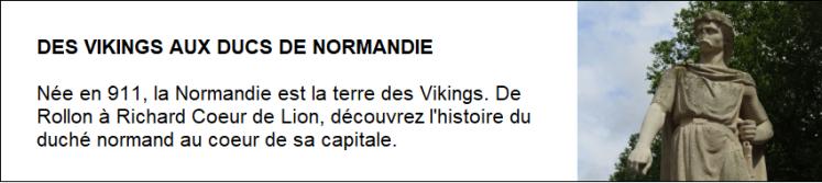 Des Vikings aux ducs de Normandie - Copie