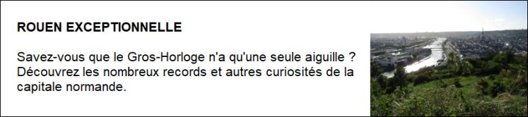 Rouen exceptionnelle
